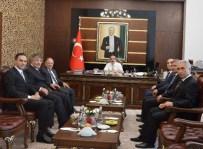 SAKARYA VALİSİ - SEDAŞ Ve Enerji Bakanlığı Yetkililerinden Vali Coş'a Ziyaret