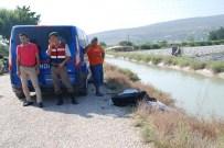 ATAYURT - Sulama Kanalına Düşen Motosiklet Sürücüsü Boğuldu