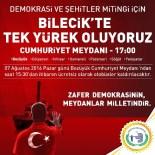 OTOBÜS SEFERLERİ - Bilecik'te De Taçlandırılacak Demokrasi Nöbetine Bozüyük'ten Büyük Destek