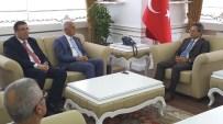 SINOP VALISI - MÜSİAD Genel Başkanı Olpak Sinop'ta