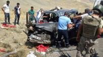 SÜLEYMAN ÖZDEMIR - Şırnak'ta Trafik Kazası: 2 Ölü, 3 Yaralı