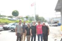 TÜRK HALKI - Soma Esnafından Başkan Ergene'ye Bayrak Teşekkürü