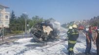 MAZOT TANKERİ - Tanker şoförü feci şekilde can verdi!