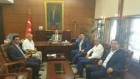 ÇAYDEĞIRMENI - AK Partililer, Vali Ali Kaban'ı Ziyaret Etti