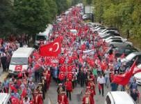 Akçaabat'ta Demokrasi Yürüyüşü Gerçekleştirildi