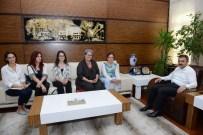 LÜTFIYE İLKSEN CERITOĞLU KURT  - RET Vakfı'ndan Başkan Külcü'ye Ziyaret