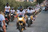 REKOR DENEMESİ - 4 Bin 500 Motosikletle Guiness Rekoru Denemesi
