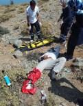 500 Metreden Düşen Paraşütçü Yaralandı