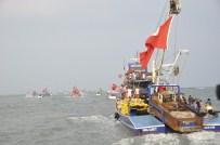 RECEP ÖZTÜRK - Balıkçılar Tekneleriyle FETÖ'yü Lanetledi