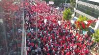 FEVAI ARSLAN - 'Demokrasi Ve Şehitler Mitingi' Düzce'de Coşkuyla Kutlandı