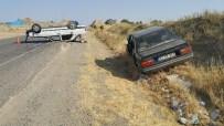 MURAT ÇELIK - İki Otomobil Çarpıştı Açıklaması 7 Yaralı