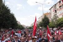 YıLMAZ ZENGIN - Kırşehir'de Binlerce Kişi Demokrasi İçin Yürüdü