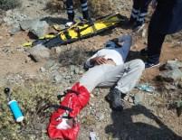 Paraşütçü 500 Metreden Düştü