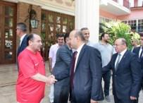 CELALETTIN YÜKSEL - Yalçın Akdoğan Cumhurbaşkanı Erdoğan'a Saldırı Girişiminin Yaşandığı Oteli Ziyaret Etti