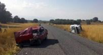 AHMET CAN - Beyşehir'de İki Ayrı Trafik Kazası Açıklaması 8 Yaralı