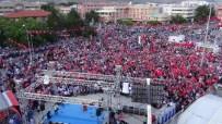 DEDE MUSA BAŞTÜRK - Erzincan Halkı Demokrasi Ve Şehitler Mitinginde Buluştu
