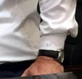 AHMET ORHAN - MHP'li Özdağ'ın Gömleğinde Dikkat Çeken Detay