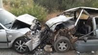 BALCıLAR - Milas'ta Trafik Kazası Açıklaması 2'Si Ağır 3 Yaralı
