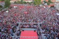 ERTAN PEYNIRCIOĞLU - Niğde'deki Demokrasi Mitingine Şehit Astsubay Ömer Halisdemir'in Babası Katıldı
