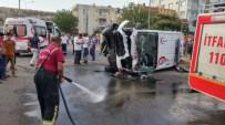 MUSTAFA KıLıNÇ - Vakaya Giden Ambulansla Hafif Ticari Araç Çarpıştı Açıklaması 7 Yaralı