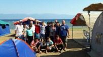 Başkan Uysal Çocuk Kampını Ziyaret Etti