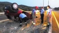 Burhaniye'de Trafik Kazası Açıklaması 3 Yaralı