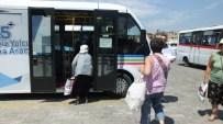 Burhaniye'de Yaşlı Kartlarının İstismarı Minibüsçüleri Kızdırdı