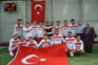ALİ KORKUT - Erzurum'da Engelliler Futbol Müsabakası Düzenlendi