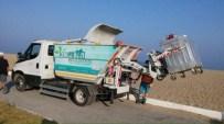 DAVUTLAR - Kuşadası Belediyesi Temizlik Filosuna Yeni Araçlar