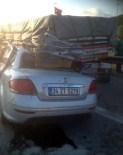 ELMALıK - Otomobil TIR'A Arkadan Çarptı Açıklaması 1 Yaralı