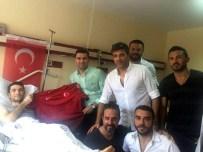 AHMET DURSUN - Türkiye Profesyonel Futbolcular Derneği'nden Gazilere Ziyaret