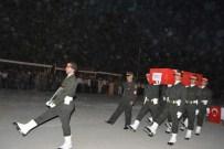 SİİRT ÜNİVERSİTESİ - Uzman Çavuş Halil İbrahim Kara'nın Cenazesi Memleketine Uğurlandı