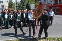 VATANDAŞLıK - Adli Yıl Açılışı Nedeniyle Çelenk Sunma Töreni Düzenlebdi