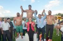 HÜSEYIN TEKIN - Amasya'da Başpehlivan Recep Kara Oldu
