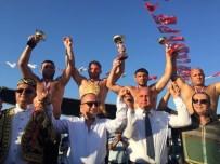 KONYAALTI BELEDİYESİ - Balaban, Geyikli Güreşlerinden Altın Kemer İle Döndü