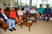 HÜSEYIN CAN - Başkan Baran, Kocaeli Birlikspor'u Ziyaret Etti