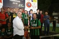 HASAN ALIŞAN - Başkan Zeki Toçoğlu Final Maçlarını İzledi