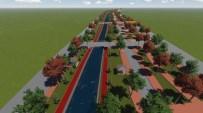 Cihanbeyli'de Kordon Boyu Parkı Projesi Çalışmaları Sürüyor