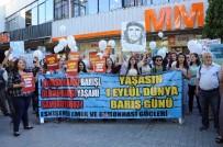 SOLMAZ - Eskişehir'de Dünya Barış Günü