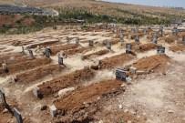 YEŞILKENT - Facianın Boyutu Mezarlığa Da Yansıdı
