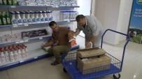 AYGAZ - Halk Market'e Bağışlar Devam Ediyor