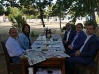 HASAN AKGÜN - Hasan Akgün, CHP'li Başkanları Ağırladı