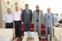YAŞAR İSMAİL GEDÜZ - Kırkağaç'tan Başkan Ergün'e Ziyaret
