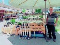 KADIR ÖZDEMIR - Kurban Bayram Öncesi Manda Boynuzu Bıçağı Yok Satıyor