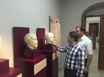 YAT LİMANI - Milletvekili Tunç Amasra Müzesi'ni İnceledi