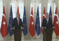 İFADE ÖZGÜRLÜĞÜ - Schulz İle Görüşen Başbakan Yıldırım'dan Önemli Açıklamalar