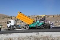 KURUKÖPRÜ - Talas'ta Asfalt Çalışmaları Devam Ediyor