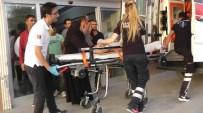 KAFA TRAVMASI - Üç Yaşındaki Kız Çocuğu, Üçüncü Kattan Düşerek Yaralandı