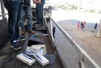 AKARYAKIT TANKERİ - Akaryakıt Tankerinden 51 Bin Paket Kaçak Sigara Çıktı