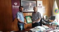 HALUK CÖMERTOĞLU - Akın'dan Belediye Başkanı Cömertoğlu'na Ziyaret